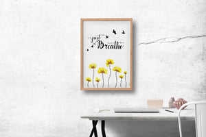 Art Print - Just Breathe