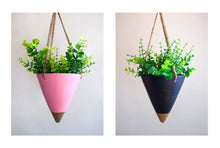 Hanging Conical Planters