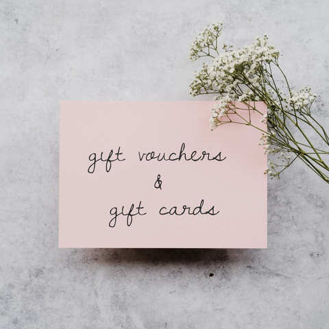 Gift Vouchers & Gift Cards