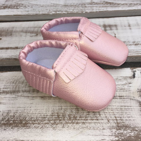 Pearl Pink Moccs