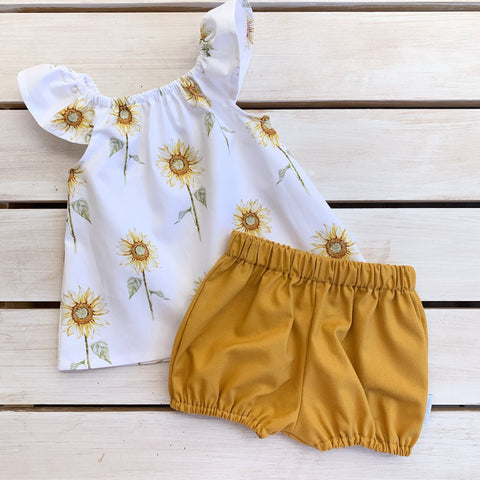 Golden Sunflower Set