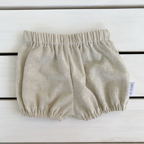 Natural Linen Shorties