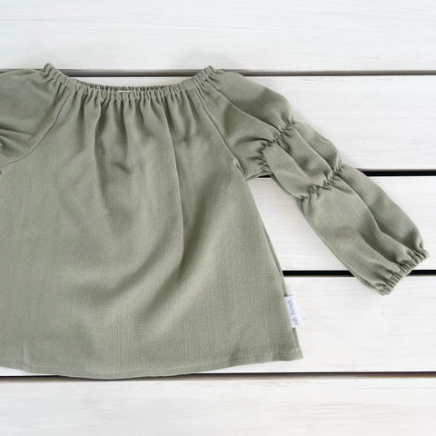 Deep Sage Willow Top