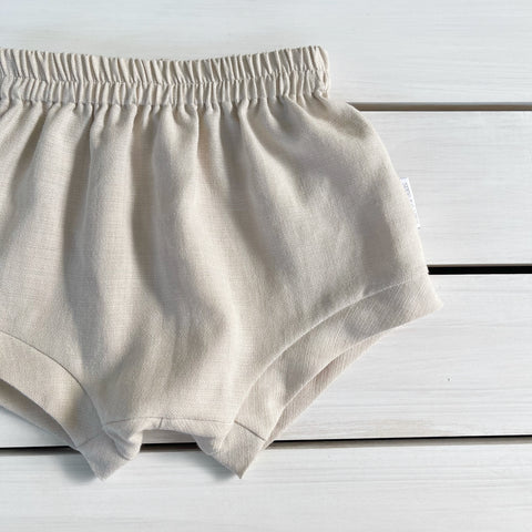 Natural Relaxed Fit Shorties