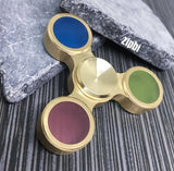 Transparent Color Tri Zipbi Spinner