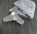 Stainless Steel Tri Zipbi Spinner