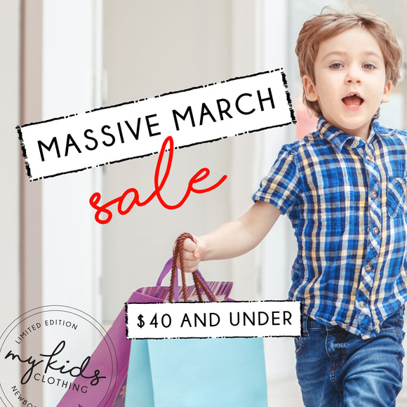 $40 and Under - Massive March Sale
