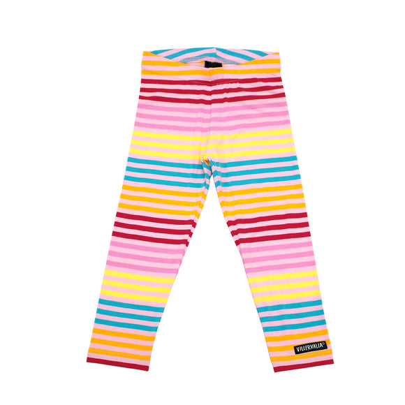 Blossom Multistripe Rainbow Leggings