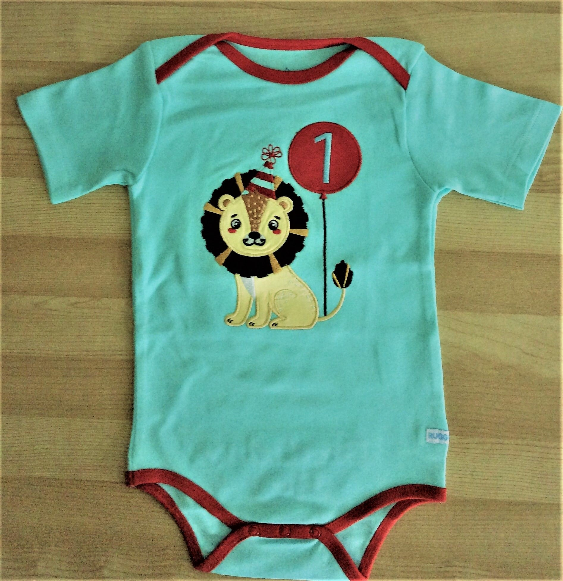 Lion First Birthday Boy Bodysuit – My Kids Clothing