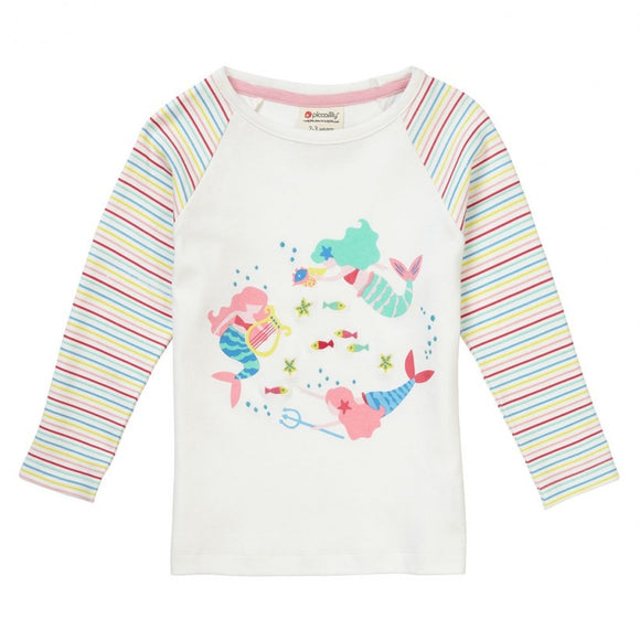 Mermaid Raglan Long Sleeve T-Shirt