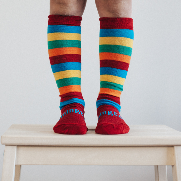 New Arrival - Scooter- Merino- Lamington Socks