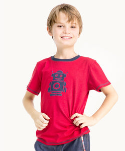 Cool Red Robot T-Shirt