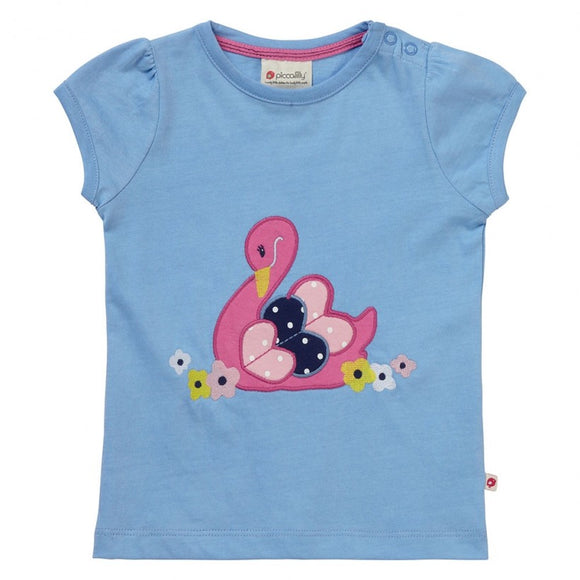 Swan Applique T-Shirt