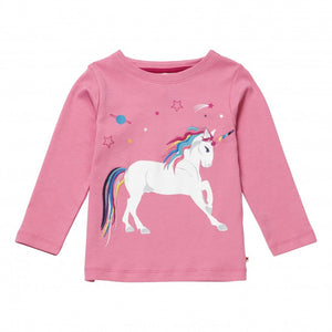 Dusty Pink Unicorn Long Sleeve Tee - New Arrival