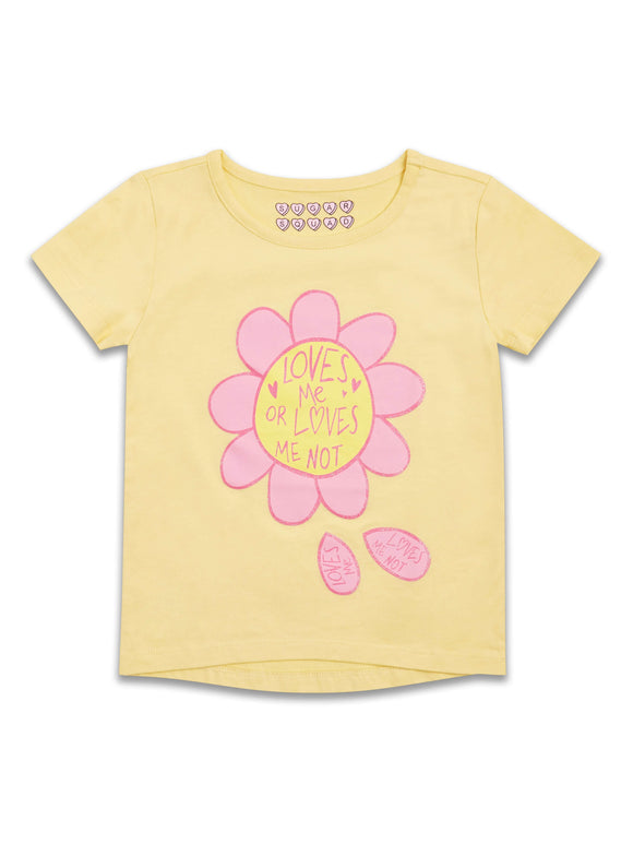 Yellow Love Me T-Shirt