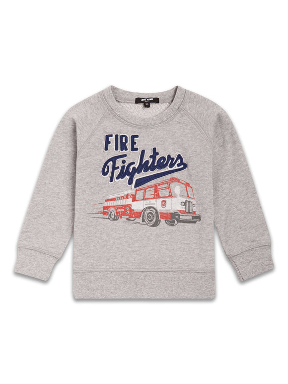 Grey Fire Fighter Sweatshirt