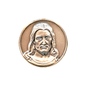 Christ's Face Medal