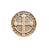St Benedict Sterling Silver Medal