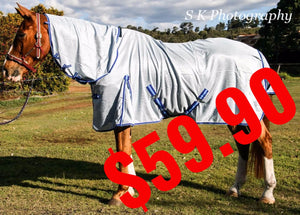 UV Treated Airmesh Mesh Horse Rug Combo