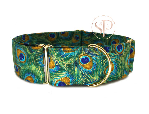Tail Feathers - 2 inch Martingale Collar