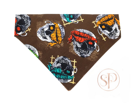 Pirate Skulls Bandana