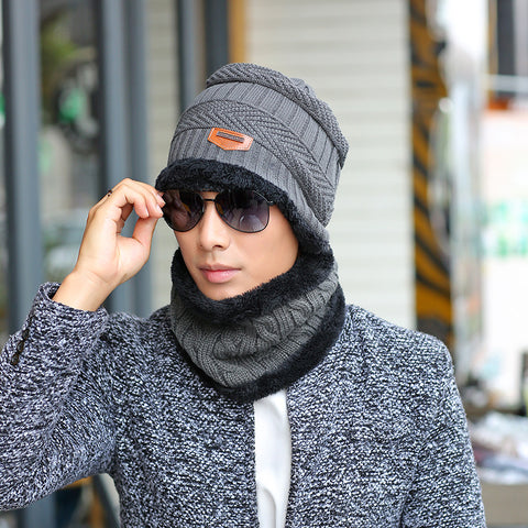 Warm Unisex Winter Hat Set-  5 Colors