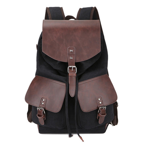 COVEY Canvas Backpack - 4 Colors Available