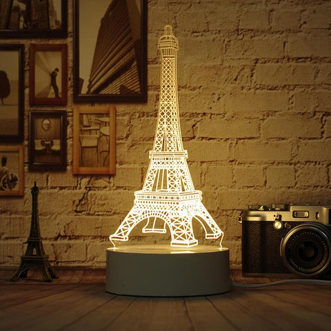3D Lamp- Great For Nightlight -11 Designs