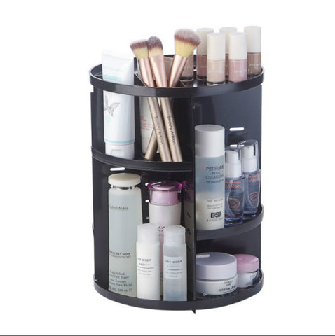 Makeup Organizer 360 Degree Rotation