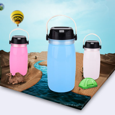 Solar LED Water Bottles