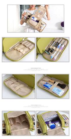 Hanging Travel Makeup & Toiletry Bag 4 Colors