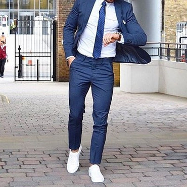After the JT look? Tips to wearing suits with sneakers