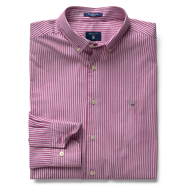 GANT TECH PREP TWILL STRIPE SHIRT - JUDDS=MEN
