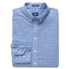 GANT BROADCLOTH GINGHAM LS SHIRT - JUDDS=MEN