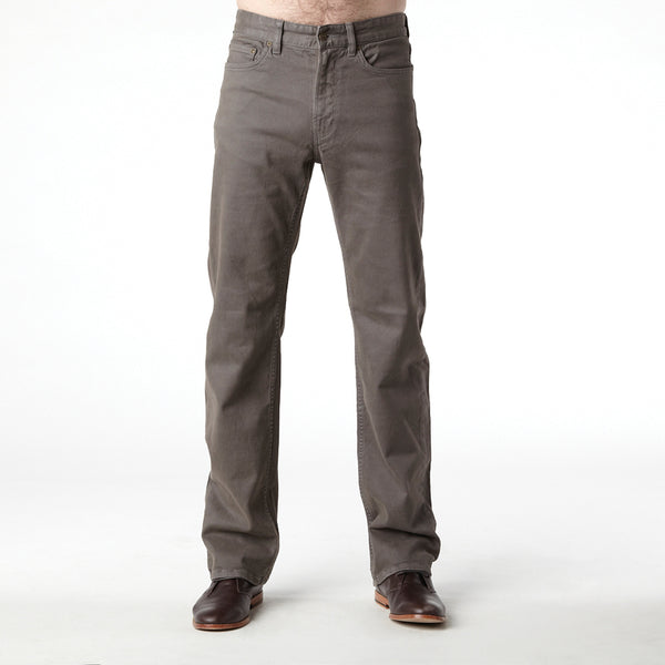 RIDERS STRAIGHT MOLESKIN STRETCH TAUPE