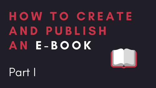 DULO Origins #100 - How to create and publish an e-book