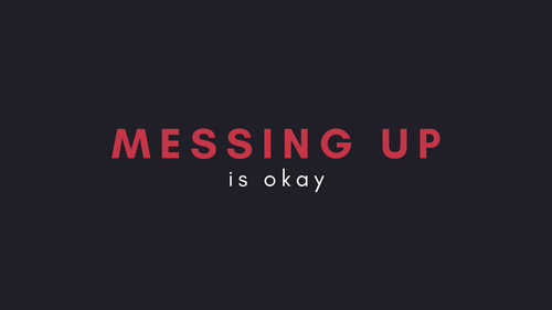 DULO Origins #99 - Messing up is O.K.
