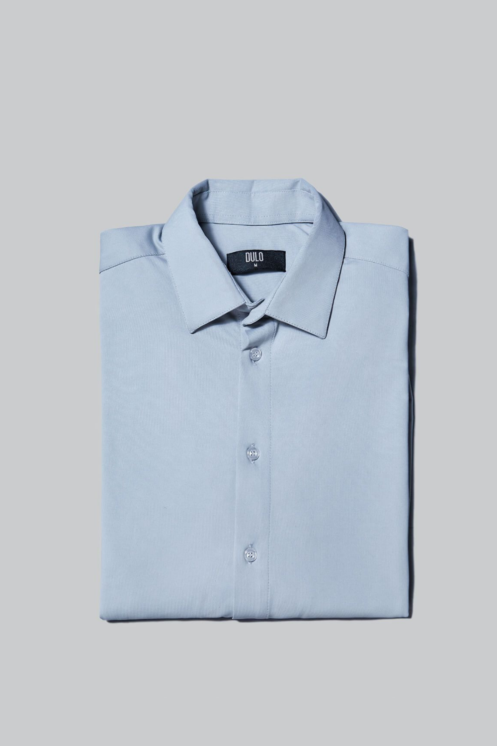 DULO Dress Shirt From Performance Fabric - Grey