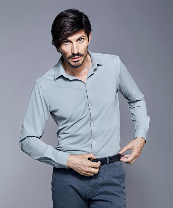 DULO Grey dress shirt