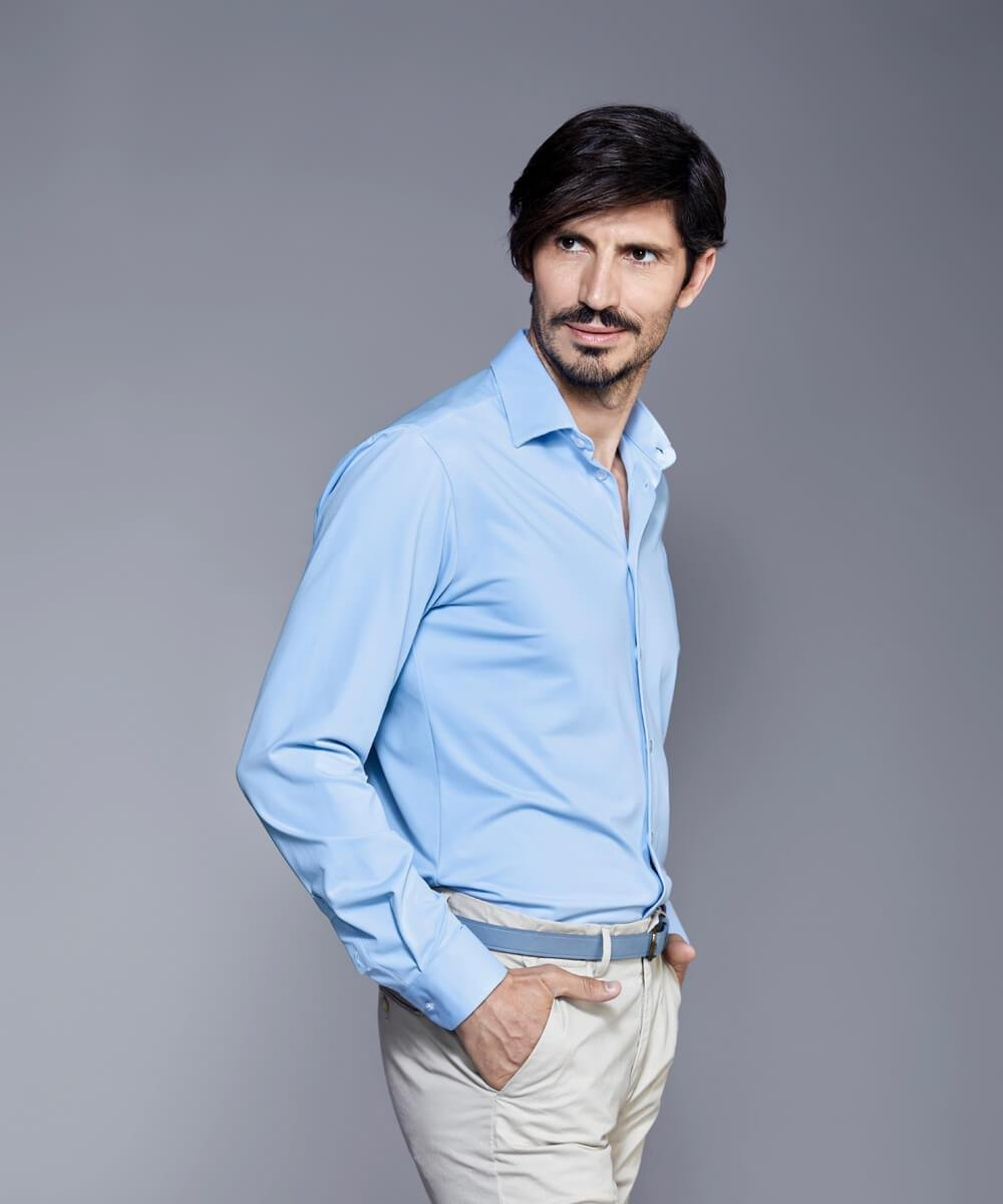 DULO Blue dress shirt