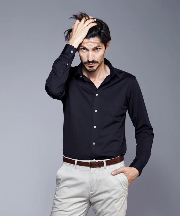 DULO Black dress shirt