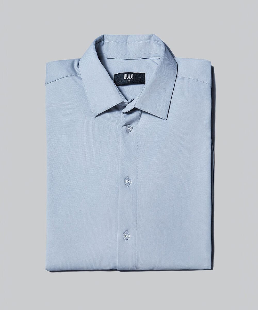 DULO Origins Grey performance dress shirt