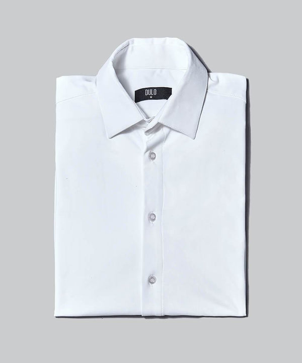 DULO Origins White performance dress shirt