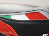 LUIMOTO TEAM ITALIA RIDER SEAT COVERS FOR DUCATI SUPERSPORT 99-07