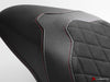 LUIMOTO DIAMOND EDITION RIDER SEAT COVERS FOR DUCATI MONSTER 821 1200 17-18