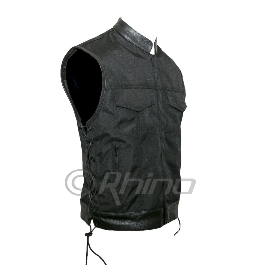 SONS OF ANARCHY STYLE CORDURA FABRIC VEST