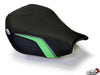 LUIMOTO TEAM KAWASAKI RIDER SEAT COVERS FOR KAWASAKI ZX-10R 06-07