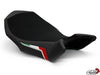 LUIMOTO TEAM ITALIA SUEDE RIDER SEAT COVERS FOR MV AGUSTA BRUTALE 990R 1090RR 09-18