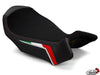 LUIMOTO TEAM ITALIA SUEDE RIDER SEAT COVERS FOR MV AGUSTA BRUTALE 750 910R 1078RR 01-12