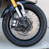 Motodemic XSR700 Spoked Wheel Conversion